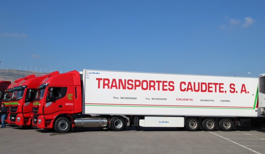 Transportes Caudete ha mantenido el nivel de empleo y los puestos de trabajo durante la pandemia de Covid-19